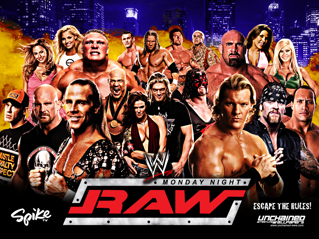 Wwe monday night raw wwe wallpaper 31544327 fanpop - Monday night raw images ...
