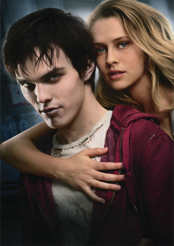 Warm Bodies Movie Обои possibly containing a hood, an outerwear, and a portrait entitled R and julie