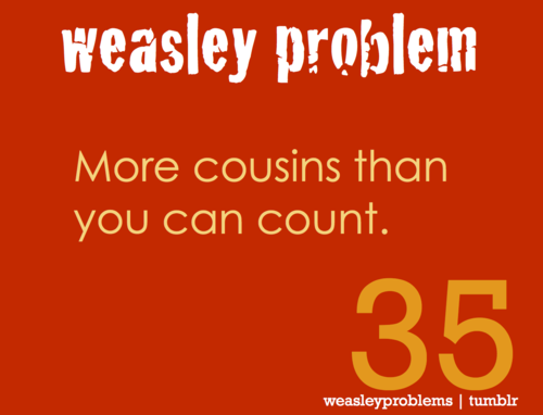 Weasley problem 21-40