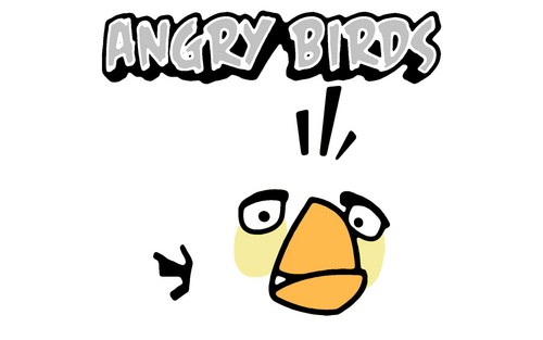 White Bird - angry-birds Wallpaper