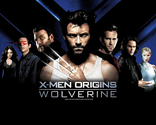 Rakshasa & friends wallpaper possibly containing a concert, a sign, and a portrait called X Men Origins: Wolverine ★