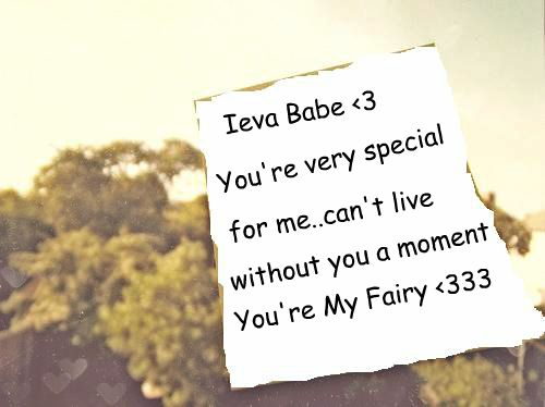 You're My Fairy <33
