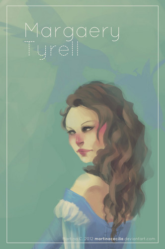 A Song of Ice and Fire wallpaper with a portrait entitled Margaery Tyrell
