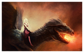 Daenerys Targaryen & Drogon - a-song-of-ice-and-fire photo