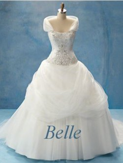 belle wedding dress - disney-princess Photo