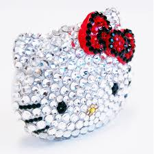 blinged out HELLOW KITTY!