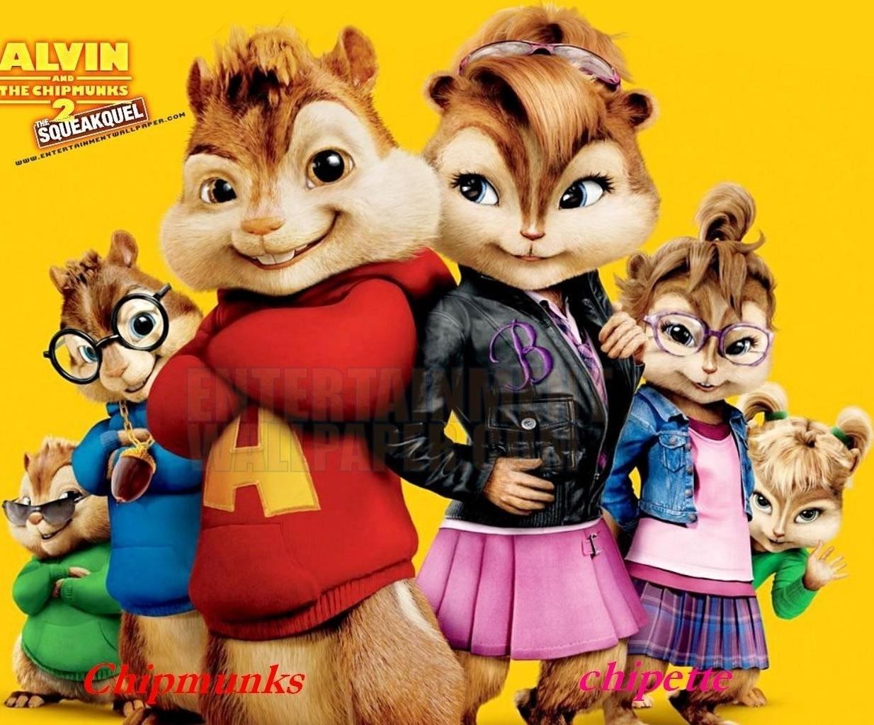 Alvin and the Chipmunks 3: Chip-Wrecked chipmunks &chipette