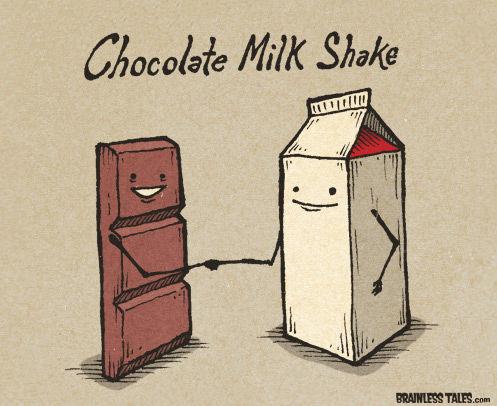 chocolate melk