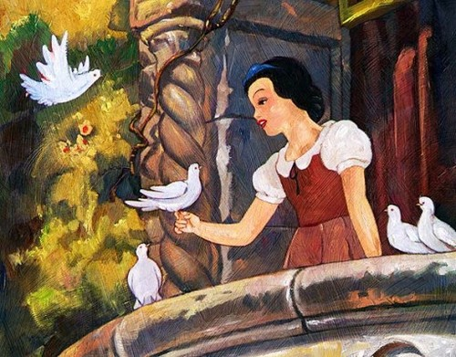 Snow White karatasi la kupamba ukuta with anime entitled Disney
