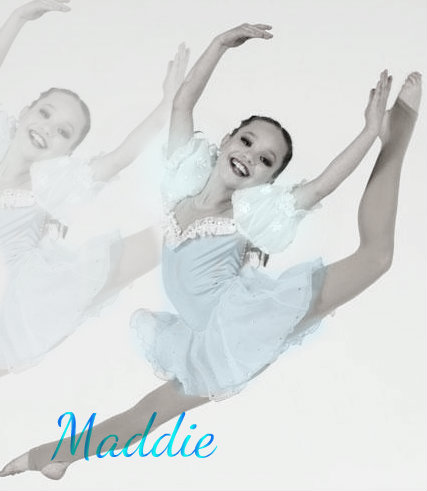 Dance Moms kertas dinding called sunting of maddie