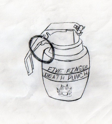 five finger death puñetazo, ponche grenade