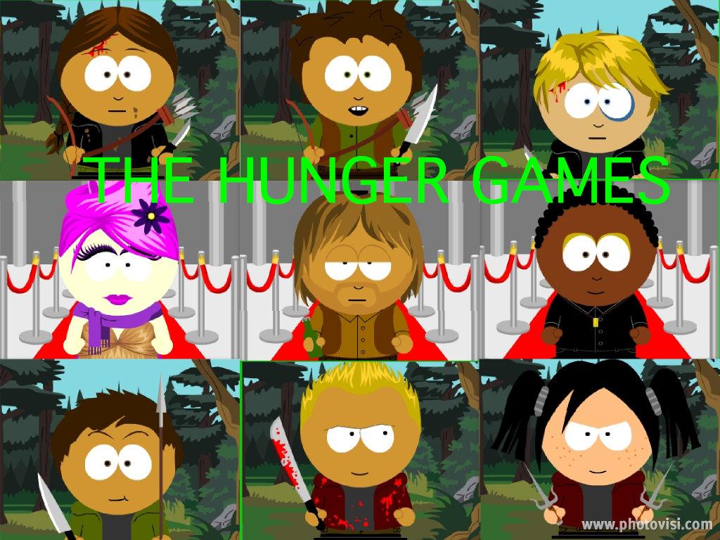 Hunger Games Character Cartoon Collage Jogos Vorazes Fa Art