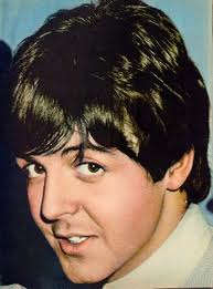 Paul McCartney wallpaper possibly with a portrait called i Amore macca!!!