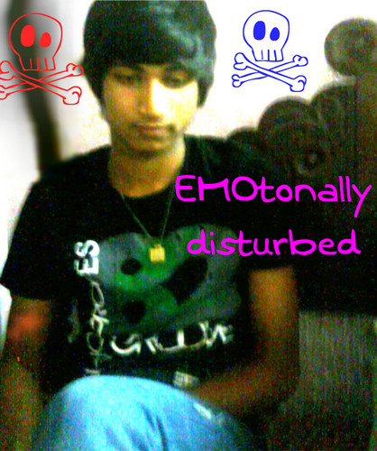 indian emo boy - emo Photo