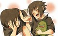 itachi and sasuke - little-naruto-kids photo
