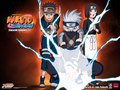 kakashi, rin, obito - little-naruto-kids photo
