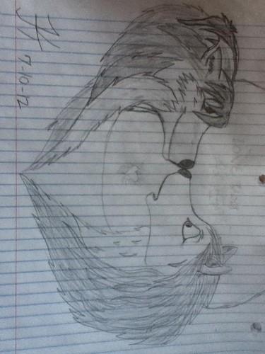 kate and humphrey drawing