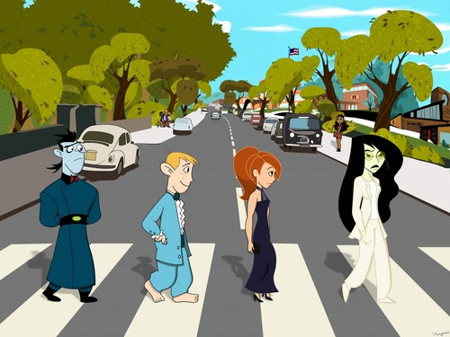 kim possible goes abbey road