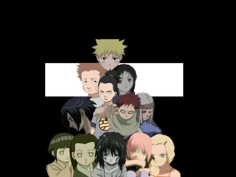 Little Naruto Kids konoha kidsLittle Kid Naruto