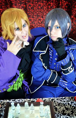 kuroshitsuji, ciel, alois cosplay