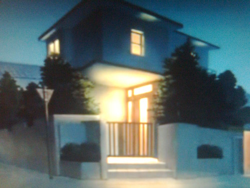 kyon's house in アニメ