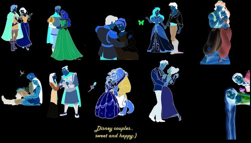 lineup - disney-princess Fan Art