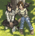 me and my bff in rl (anime form)