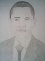 mes dessins - barack-obama fan art