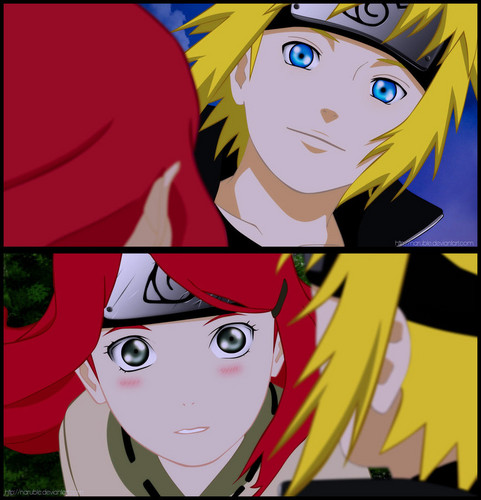 minato and kushina - little-naruto-kids Photo