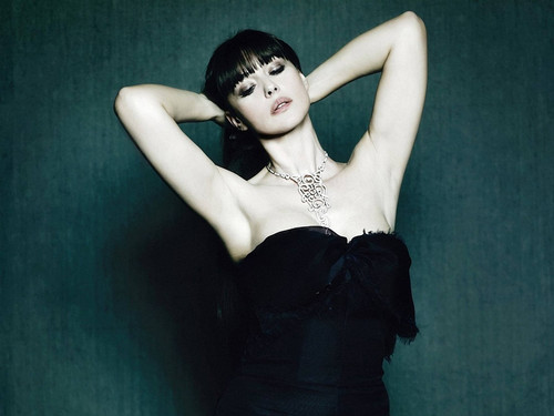 monica bellucci wallpaper probably with attractiveness and skin called monica belluccci