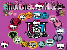 Monster High wallpaper with anime called monster nigh logos