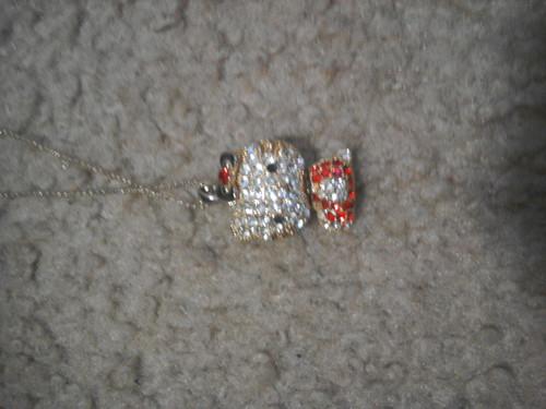 my  necklace - hello-kitty Photo