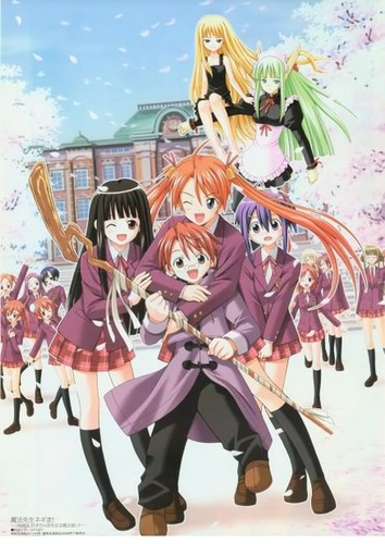 Negima images negima poster wallpaper and background photos