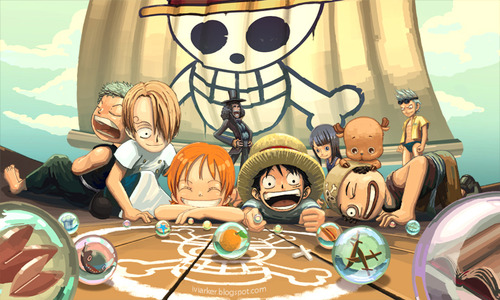 One Piece fond d'écran titled one piece kids