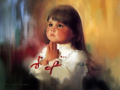 praying child for berni~