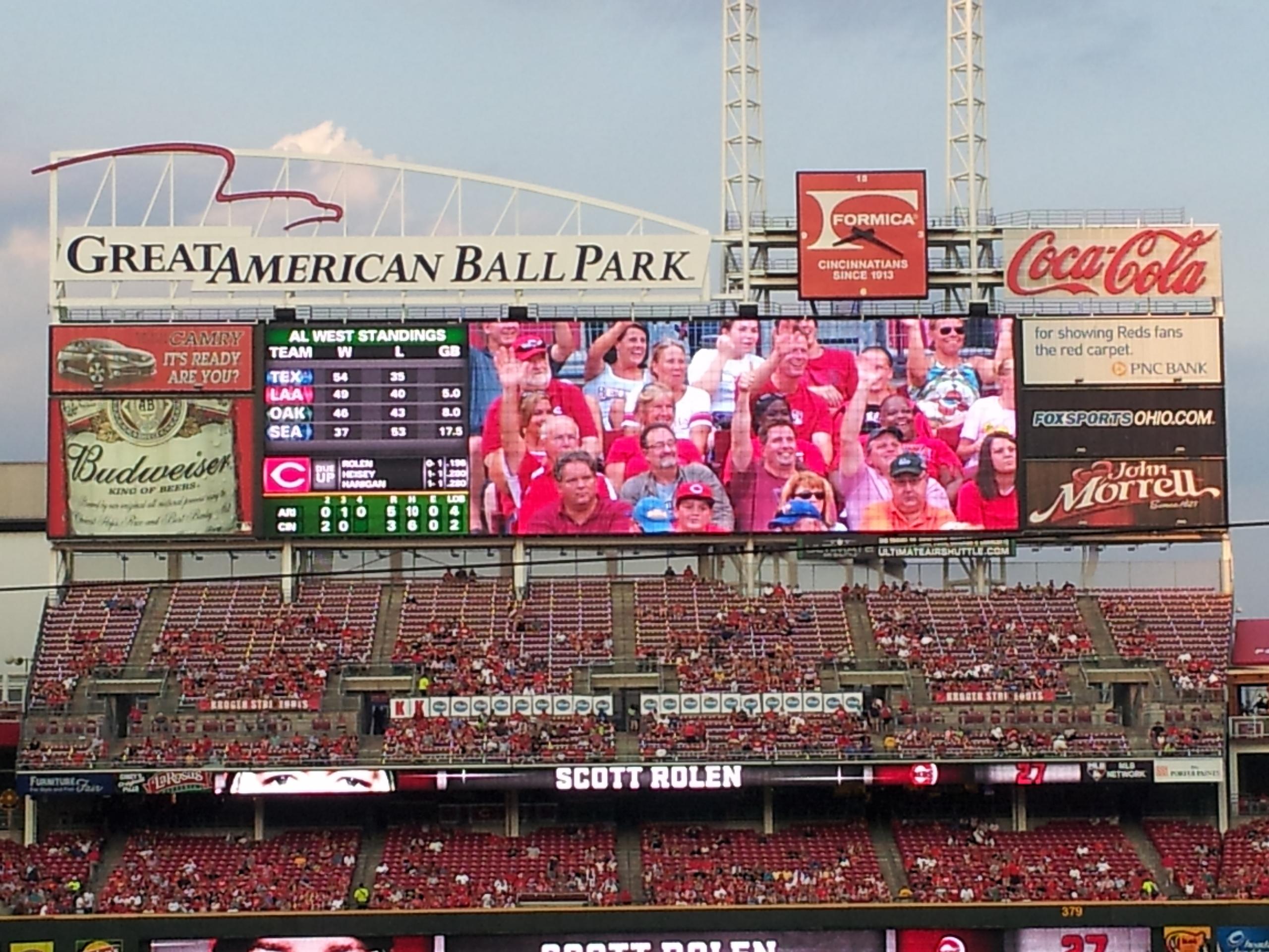 Cincinnati Reds Images Scoreboard HD Wallpaper And Background Photos