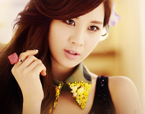 Girls Generation/SNSD wallpaper possibly with a portrait called seohyun