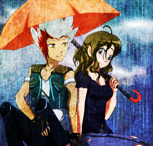 summer rain - beyblade-metal-fusion Fan Art