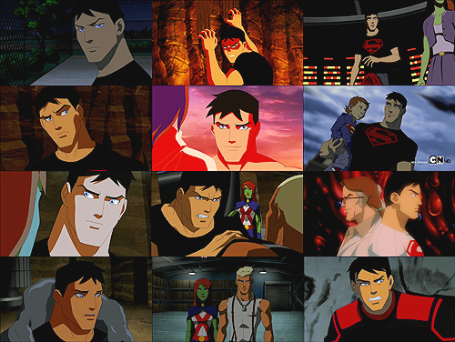Young Justice wallpaper titled superboy