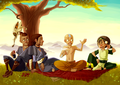 the GAang - avatar-the-last-airbender fan art