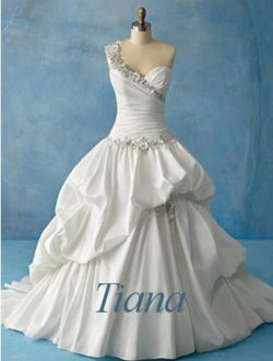 tiana wedding dress - disney-princess Photo