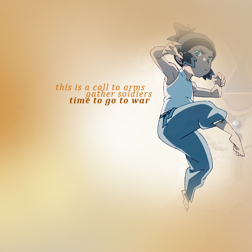 yeh korra we gotta deal with it