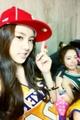 A Pink Group Selcas on their set of My My- Naeun & Namjoo