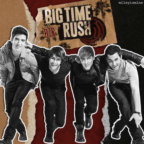 Big Time Rush wallpaper with anime titled ❤BTR❤