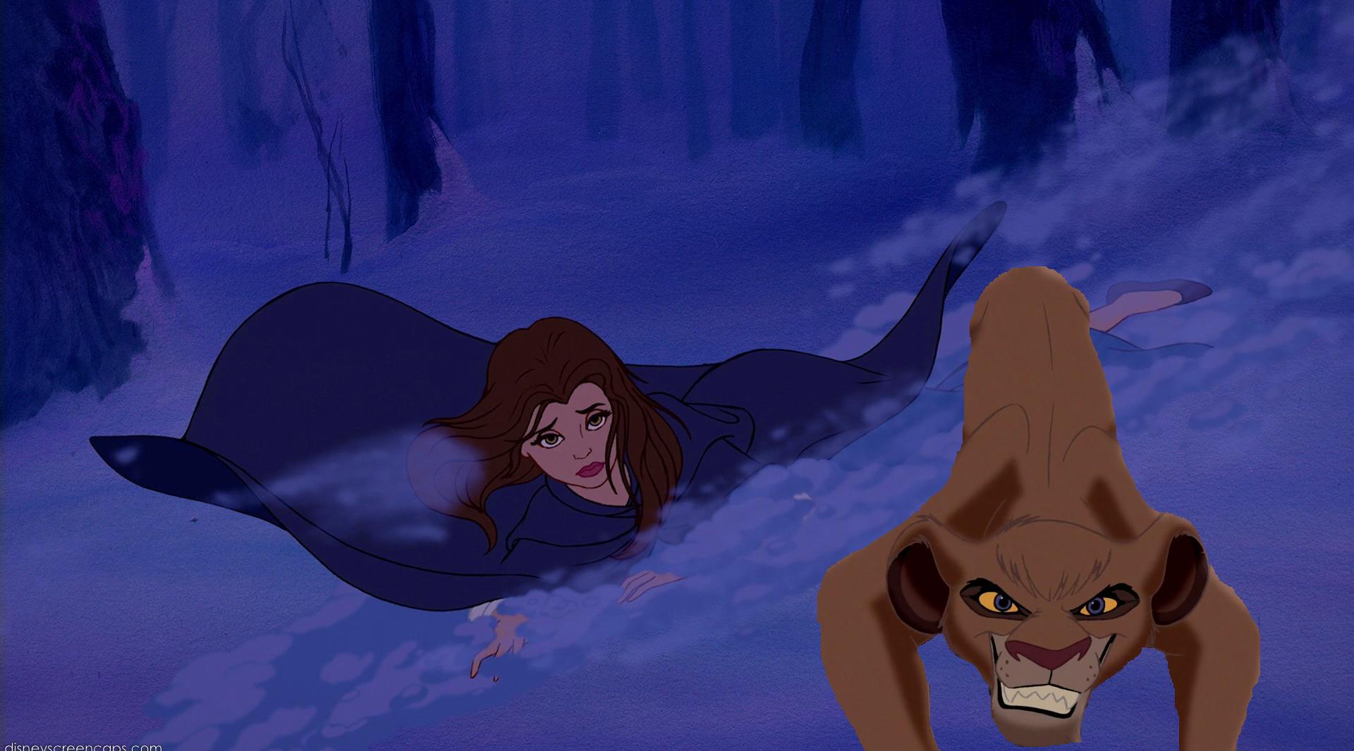 """""""Back off, wolves!"""""""