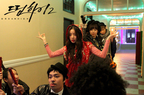 Dream High 2 wallpaper possibly containing a sign titled  Behind The Scene Dream High 2 - Part 2