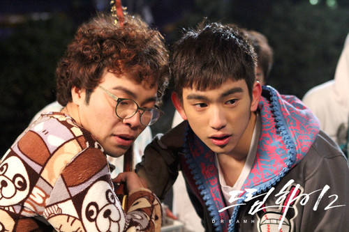 Dream High 2 fond d'écran titled Behind The Scene Dream High 2 - Part 2