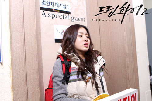Dream High 2 wallpaper with a packing box titled  Behind The Scene Dream High 2 - Part 2