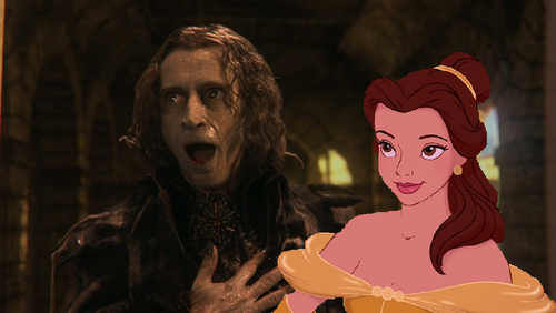 """Belle, please; 당신 can't go with this…beast!"""