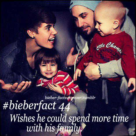Facts  Justin Bieber on Justin Bieber  Bieberfacts